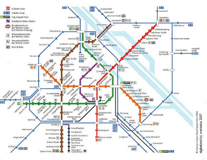 维也纳城市地图查询